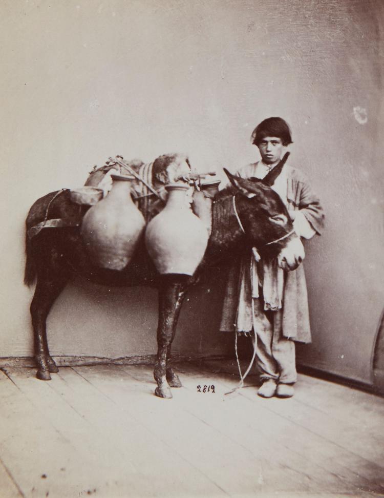 Dmitri Ivanovich Ermakov (1846-1916) - The Milk Seller Boy from Imereti Province, Georgia, 1880s