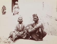 Dmitri Ivanovich Ermakov (1846-1916) - Two Indians from Bukhara, Central Asia, 1880s