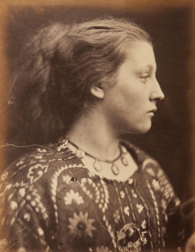Julia Margaret Cameron (1815-1879) - Sappho, Mary Hillier, 1865