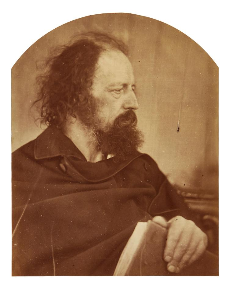 Julia Margaret Cameron (1815-1879) - Alfred Tennyson, 'Dirty Monk', 1865