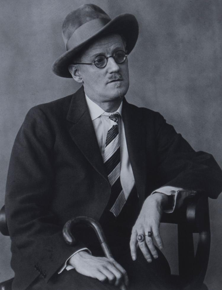 Berenice Abbott (1898-1991) - James Joyce, 1928