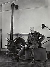 Berenice Abbott (1898-1991) - Edward Hopper, In His Studio, 1948