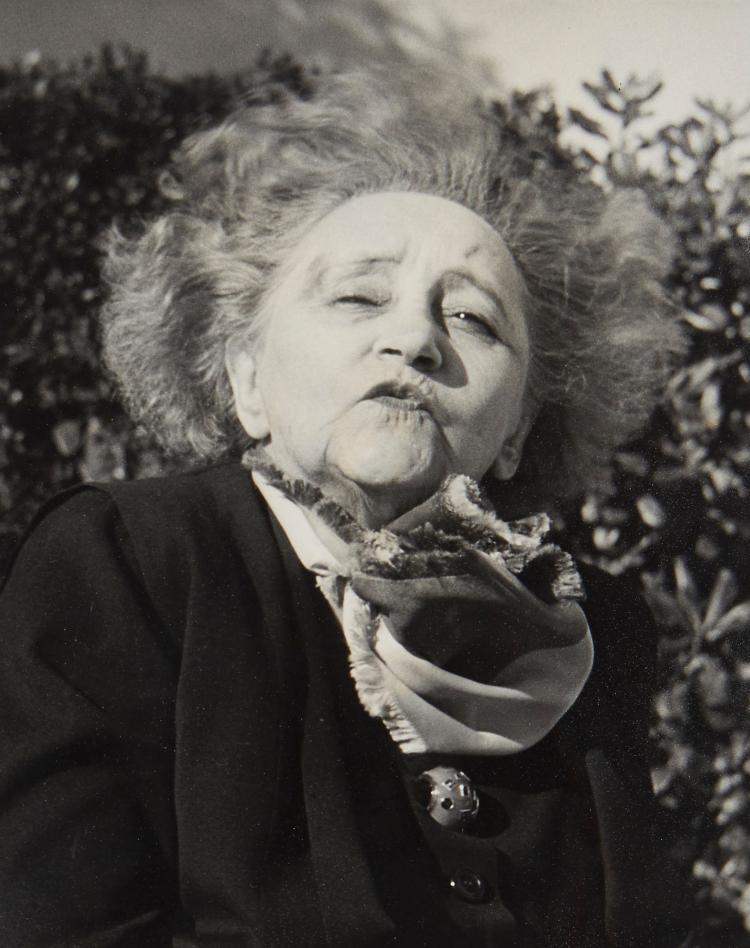 Gisèle Freund (1908-2000) - Colette, Monte Carlo, 1954