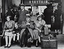 Wolfgang Suschitzky (b. 1912) - Victoria Bus Station, London, 1939