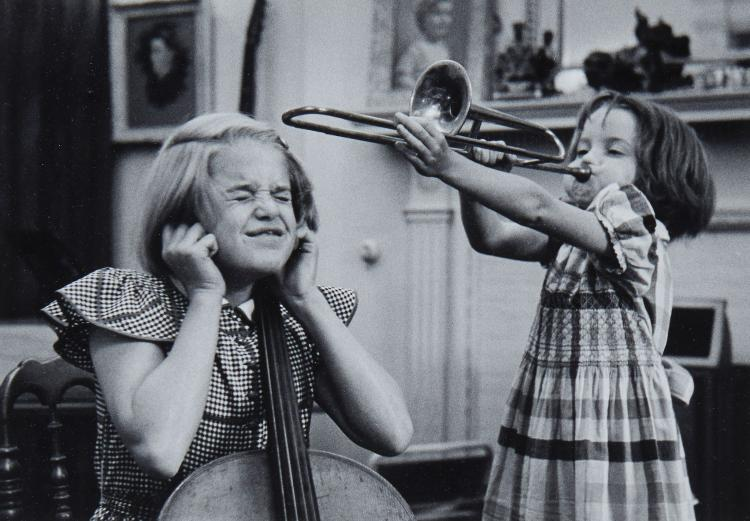 Grace Robertson (b. 1930) - Musical Children of Pianist Denis Matthews, London, 1955