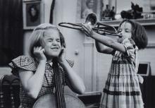 Grace Robertson (b. 1930) - Musical Children of Pianist Denis Matthews, London, 1955