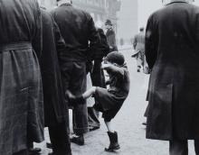 Grace Robertson (b. 1930) - Frustration, Petticoat Lane, London, 1948