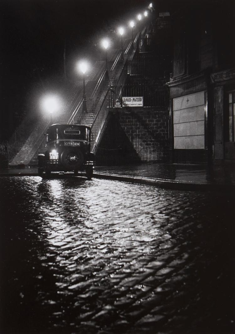 ** Willy Ronis (1910-2009) - Rue Muller, 1934