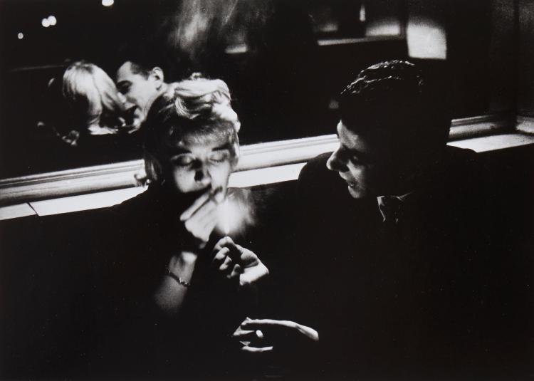 ** Willy Ronis (1910-2009) - Café Le Bidule, 1957