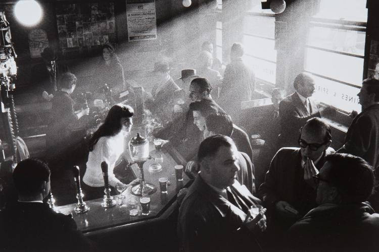 ** Willy Ronis (1910-2009) - French House, Soho, London, 1955