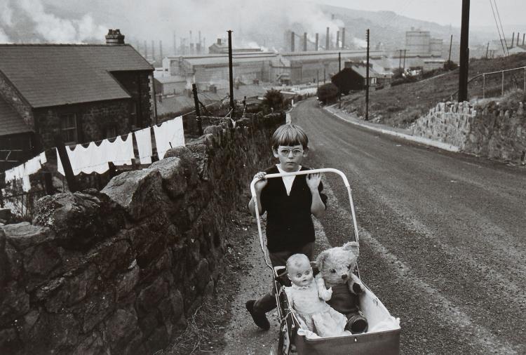 Bruce Davidson (b.1933) - Welsh Child with Stroller, 1965
