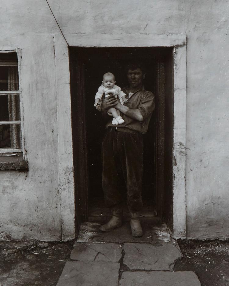Bruce Davidson (b.1933) - Welsh Miners, 1970