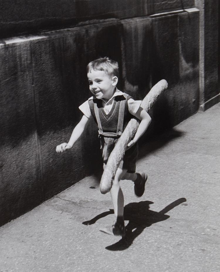 ** Willy Ronis (1910-2009) - Le Petit Parisien, 1952