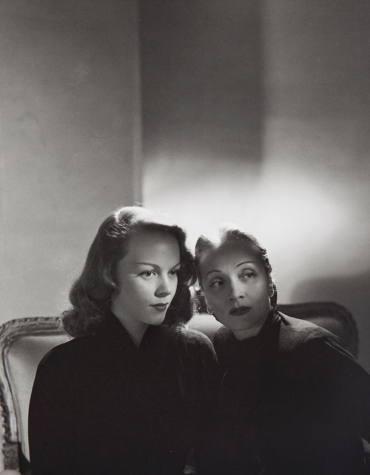 Horst P. Horst (1906-1999) - Marlene Dietrich and Daughter Maria Riva, 1947