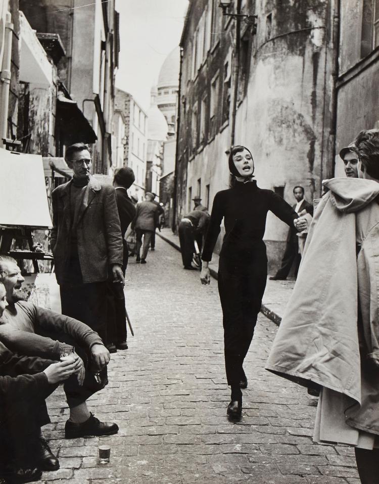 Bert Hardy (1913-1995) - Audrey Hepburn, 1956