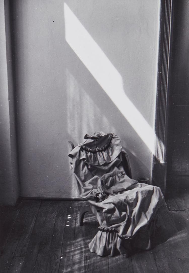 Manuel Alvarez Bravo (1902-2002) - Absent Portrait, 1945