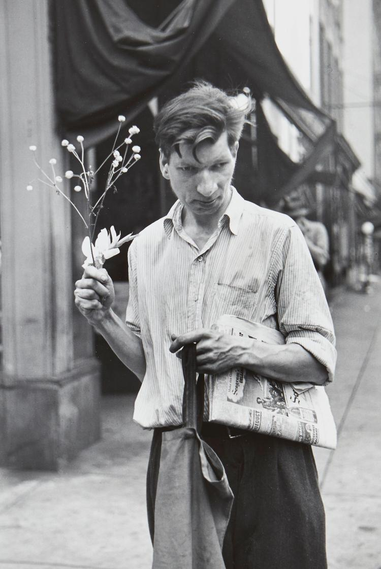 Louis Faurer (1916-2001) - Eddie, New York, NY, 1948