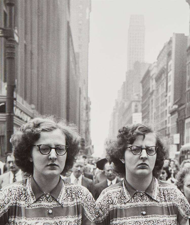 Louis Faurer (1916-2001) - Twins, New York, NY, ca. 1948