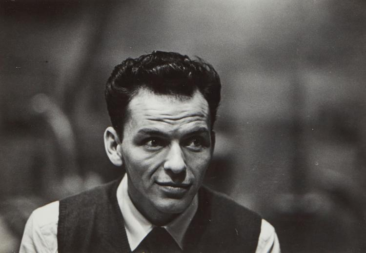 William Eugene Smith (1918-1978) - Frank Sinatra, 1947
