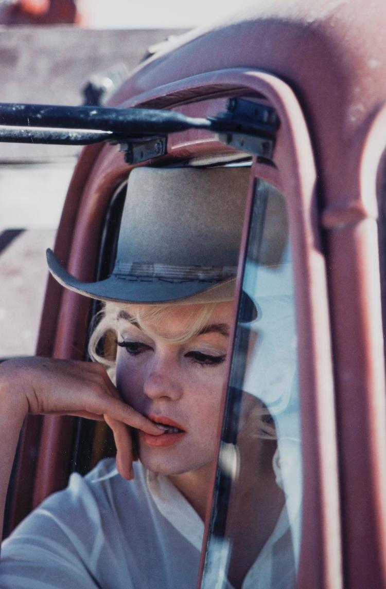 Eve Arnold (1912-2012) - Marilyn Monroe on The Set of 'The Misfits', Nevada 1960