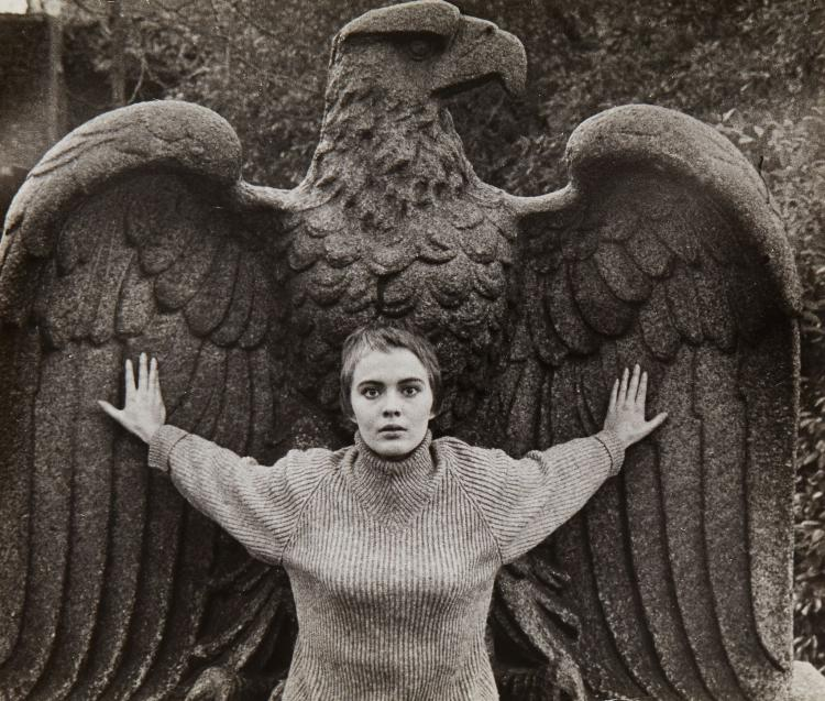 Bob Willoughby (1927-2009) - Jean Seberg, Central Park, New York, 1956