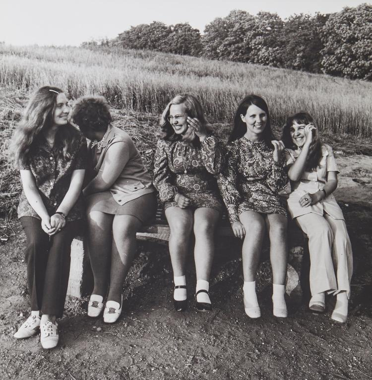 Antanas Sutkus (b.1939) - The Village Ladies, Lithuania, Zemaitija, 1973