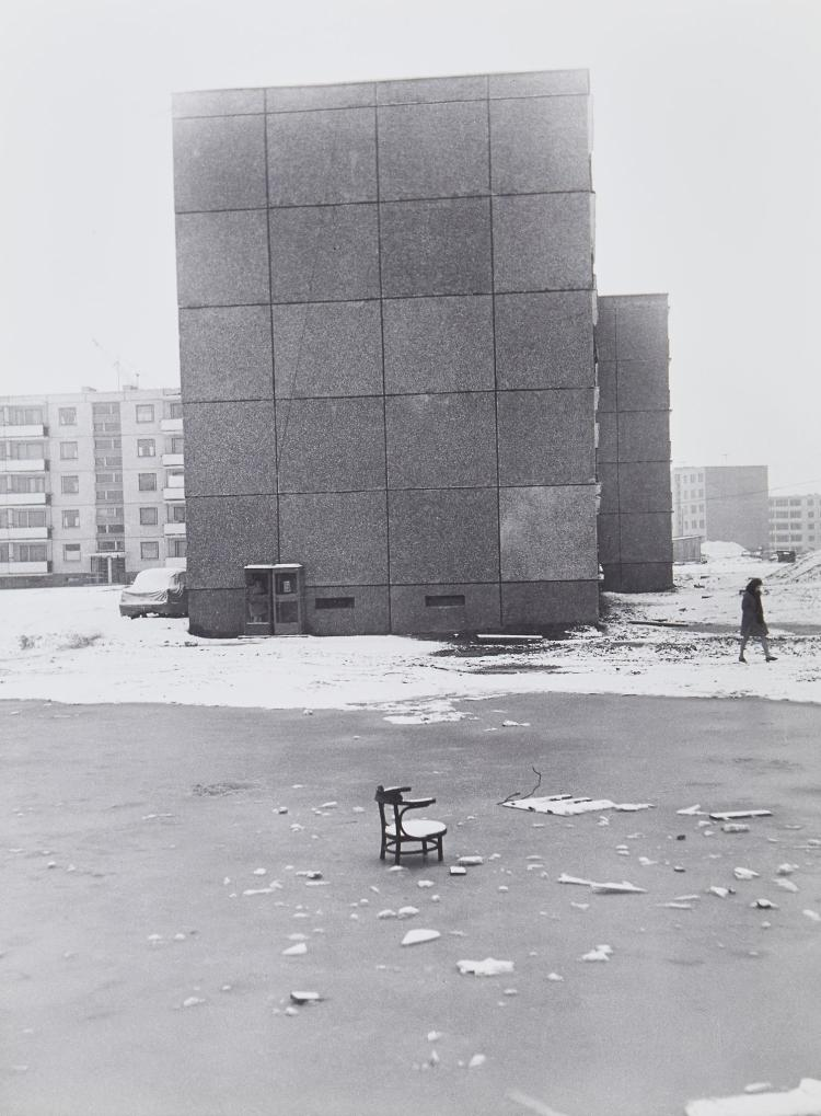Antanas Sutkus (b.1939) - Start of Lazdynai: An Old Piece of Furniture, Vilnius, 1970