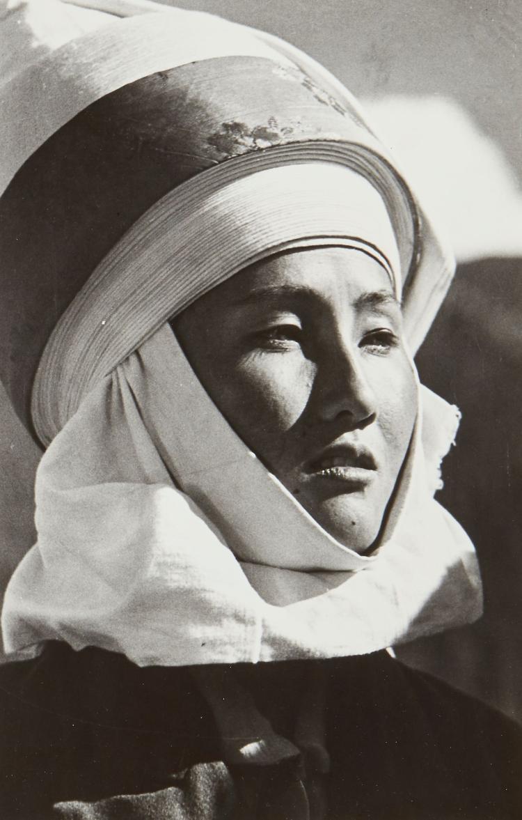 Max Alpert (1899-1990) - Kirghiz Woman, 1950s