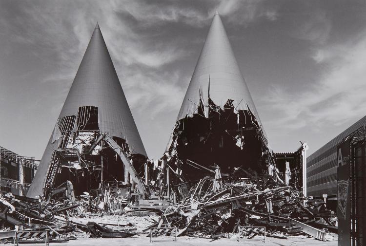 Ryuji Miyamoto (b.1947) - Architectural Apocalypse, 1985