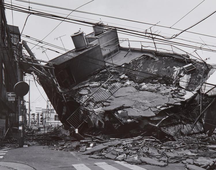 Ryuji Miyamoto (b.1947) - Kobe, 1995