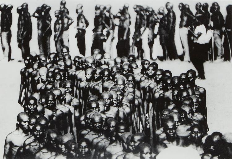 Romano Cagnoni (b.1935) - Biafra, Recruits, Nigeria, 1968