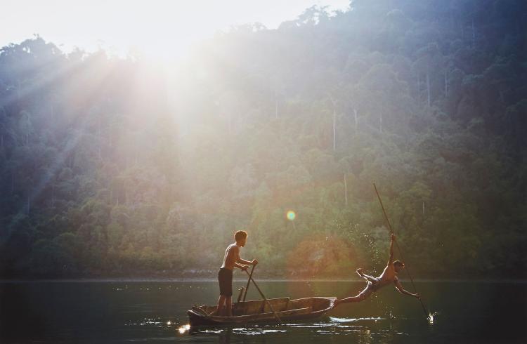 David Eustace (b.1961) - Burma, 2013
