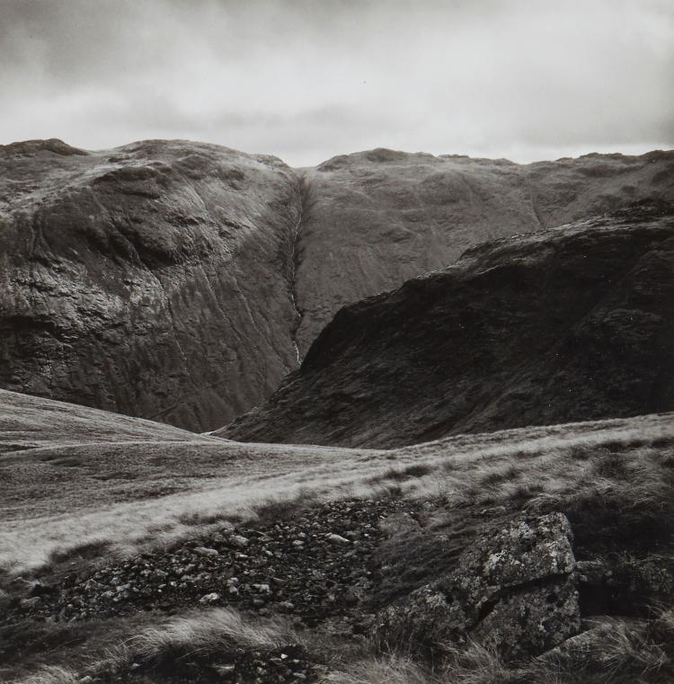 Fay Godwin (1931-2005) - From Green Gable Towards Seathwaite Fall, ca.1980