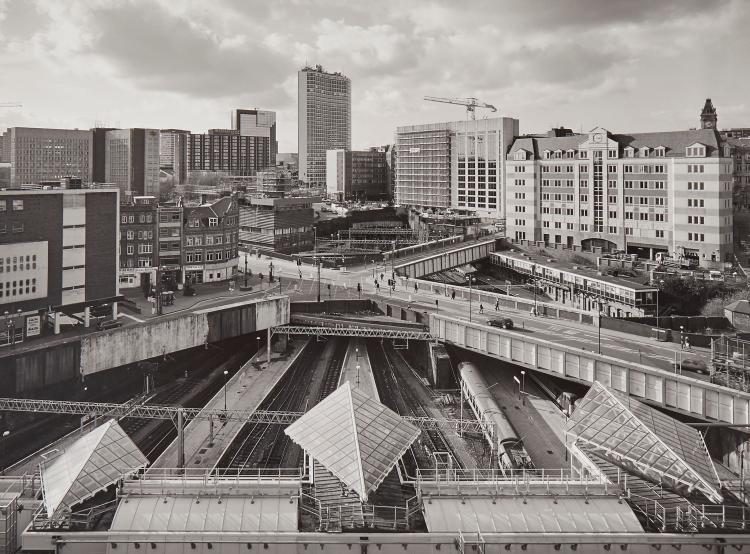John Davies (b.1949) - New Street Station, Birmingham, 2000
