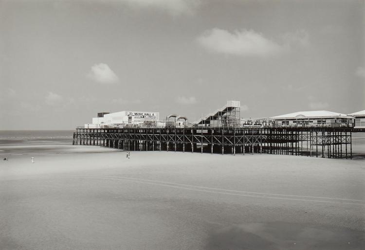 John Davies (b.1949) - South Pier, Blackpool, 1987