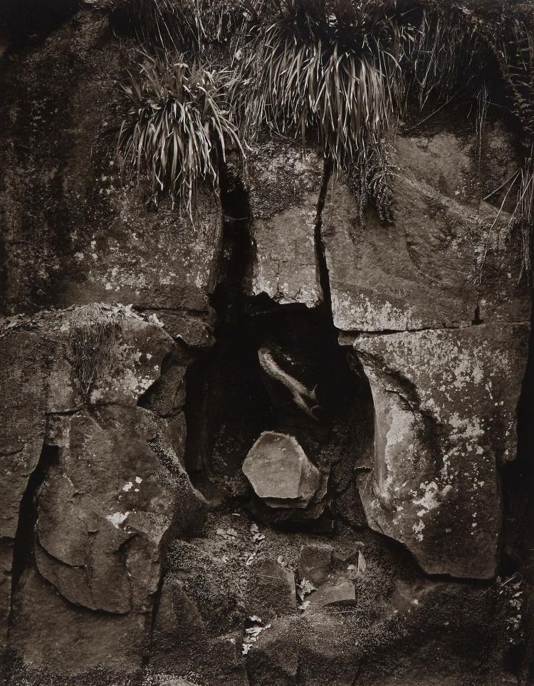John Blakemore (b.1936) - Rockface, Grindleford, 1978