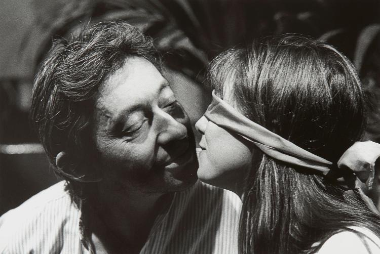 Bernard Bardinet (b.1945) - Serge Gainsbourg and Jane Birkin, Paris, 1975