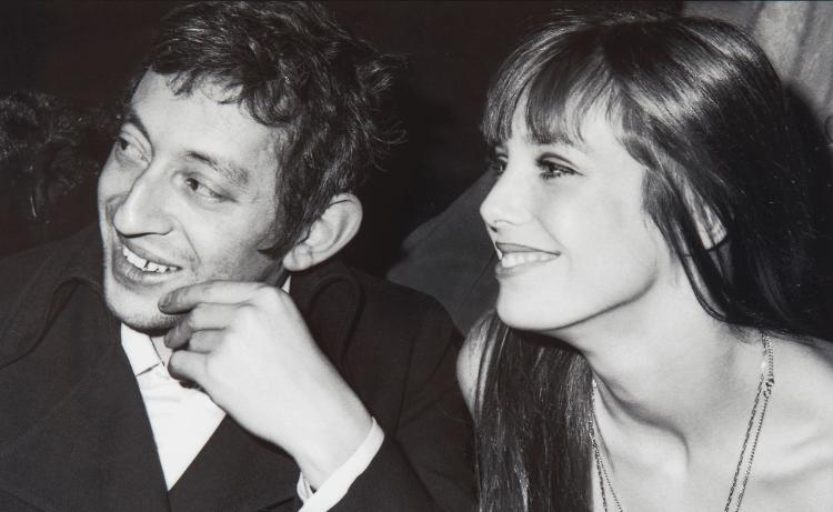 Alain Quemper (1947-2013) - Serge Gainsbourg and Jane Birkin, ca. 1969