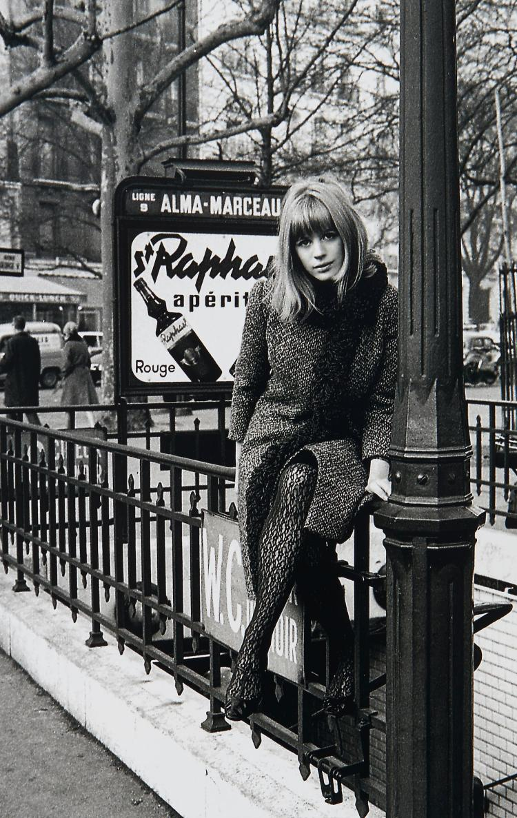 Roger Kasparian (b.1938) - Marianne Faithfull, 1965
