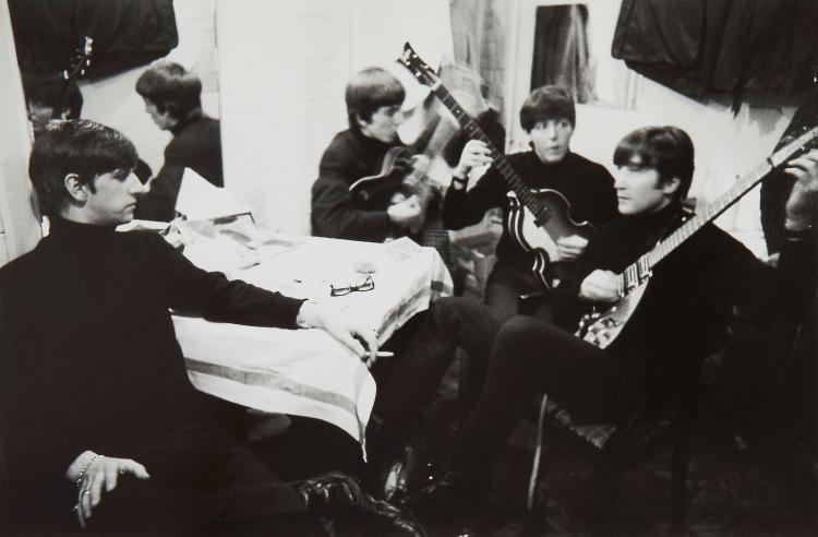 Shahrokh Hatami (b.1930) - The Beatles Rehearsing, Cavern Club, 1963