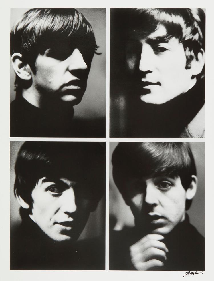 Shahrokh Hatami (b.1930) - The Beatles, 1963