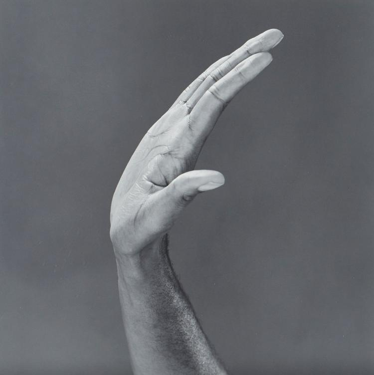 Edward Maxey Mapplethorpe (b.1959) - Hand, 1989