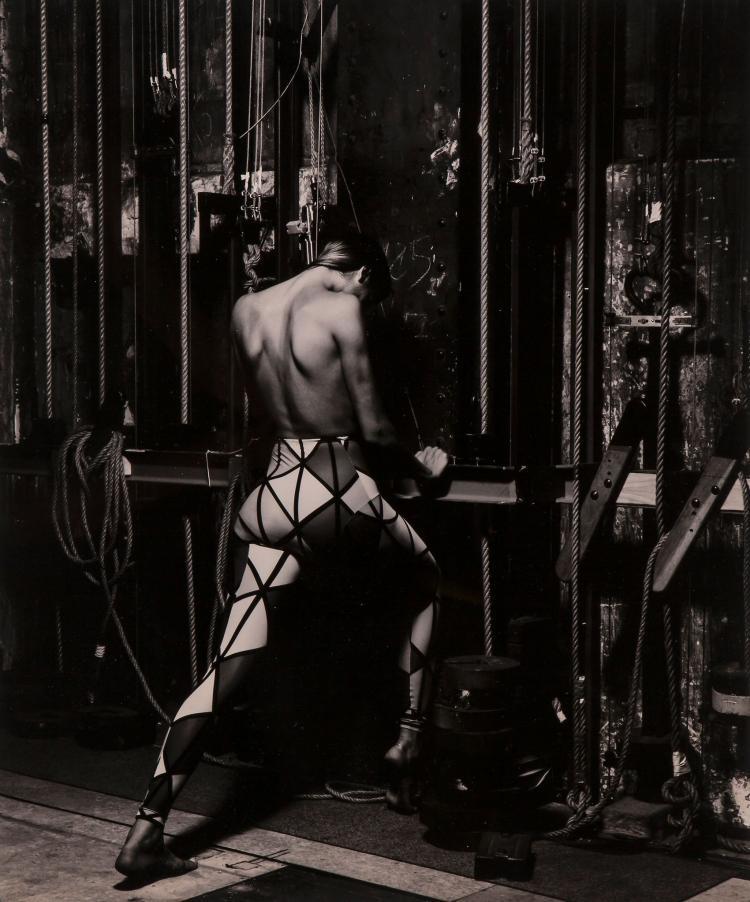 Albert Watson (b.1942) - Gabrielle Reece, Paris, 1989