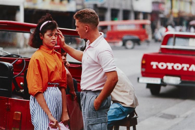 Stuart Franklin (b.1956) - Manilla, Philippines, 1987