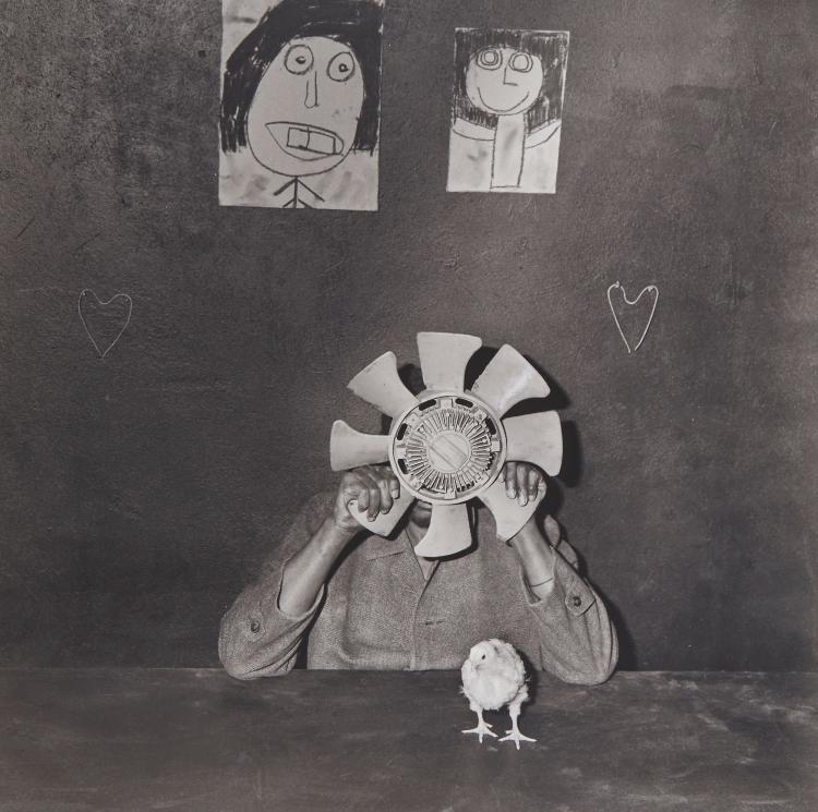 Roger Ballen  (b.1950) - Bewildered, 2003
