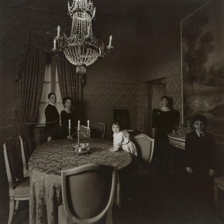 Patrick Faigenbaum (b.1954) - Famille Moncada di Paterno, Rome, 1987