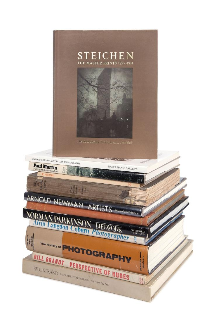 Paul Strand (1890-1976) and others - Paul Strand, A Retrospective Monograph The Years 1915-1968, 1971 and other photobooks