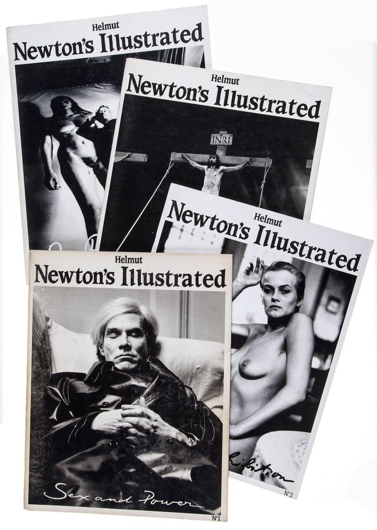 Helmut Newton (1920-2004) - Helmut Newton's Illustrated: The Complete Set, 1987-1995
