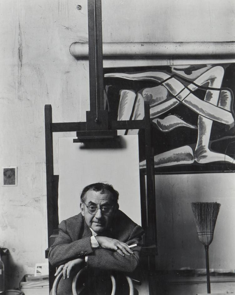 Arnold Newman (1918-2206) - Man Ray, Paris, 1948