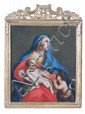 Follower of Francesco Solimena Madonna and Child